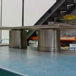 cilindro telescopico en paralelo recogidos